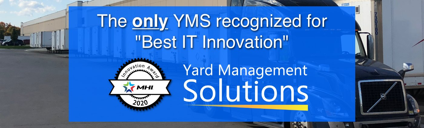 For Third Year in a Row, Yard Management Solutions Named 2020 MHI Innovation Award Finalist