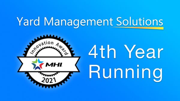 For Fourth Year Running, Yard Management Solutions Named 2021 MHI Innovation Award Finalist